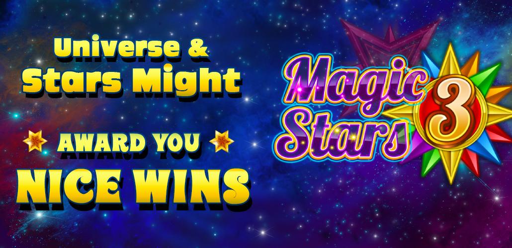 Magic stars 3, new slot game
